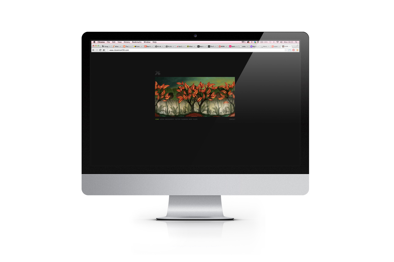 Claremont website - Wordpress design and development