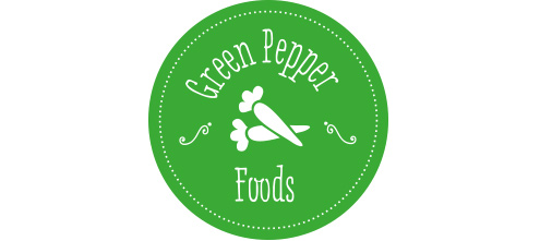 Green Pepper Foods branding