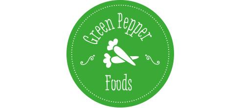 Green Pepper Foods branding