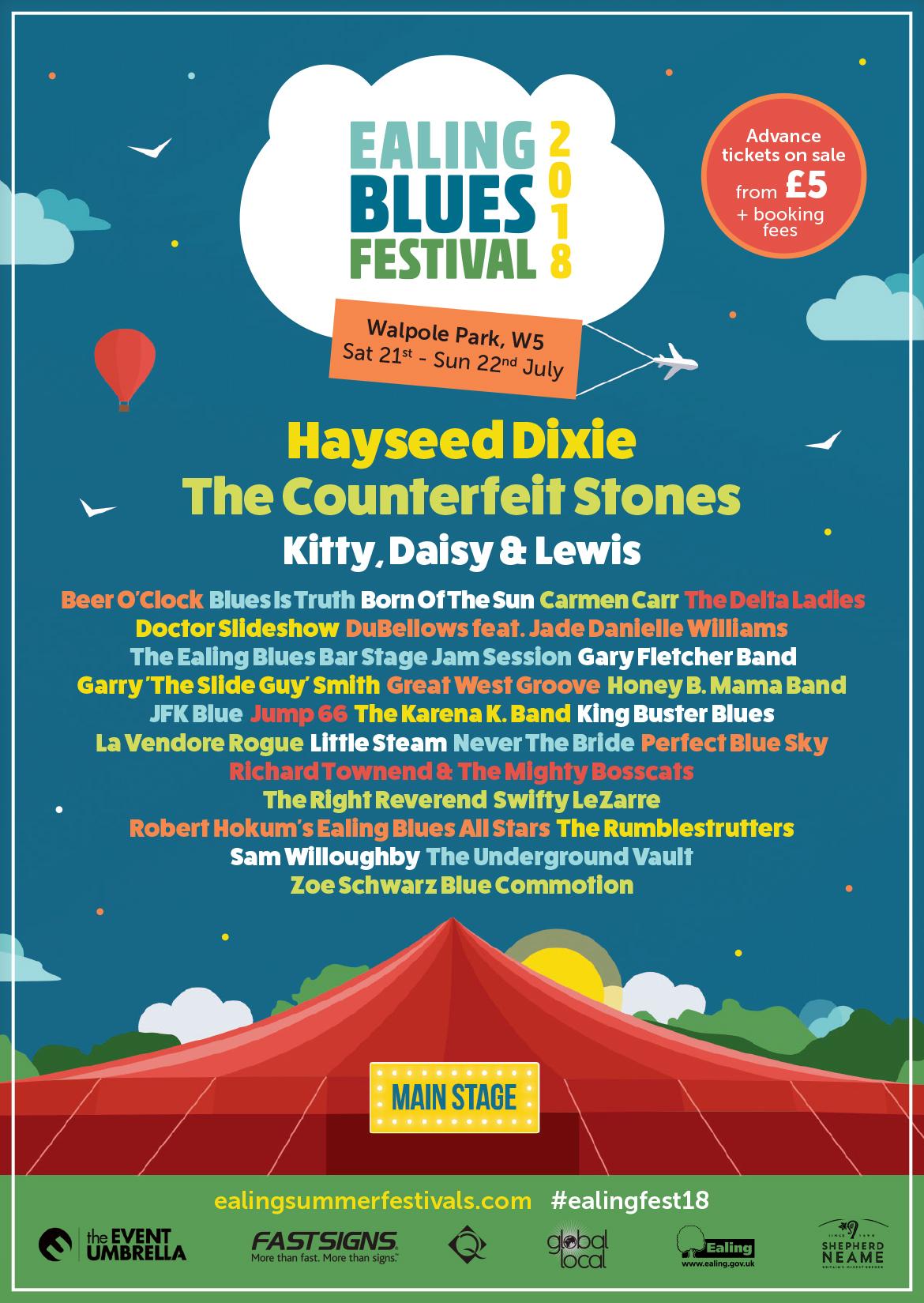 Ealing Blues Festival 2018