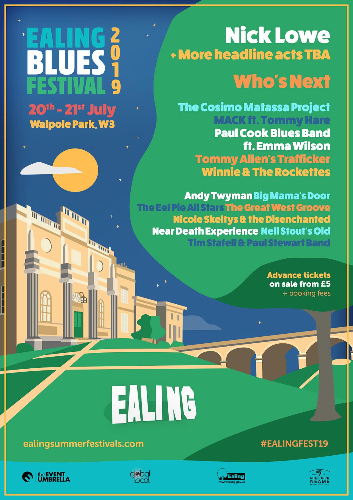 Ealing Blues Festival 2019